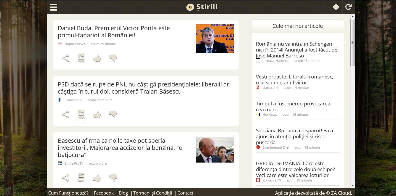 Stirili- Noul Design